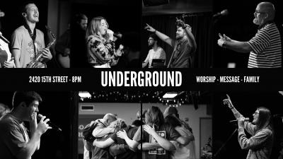 Underground Worship Service